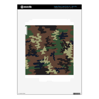 Colorful Camouflage seamless pattern Decals For iPad 3