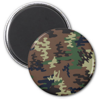 Colorful Camouflage seamless pattern Magnet