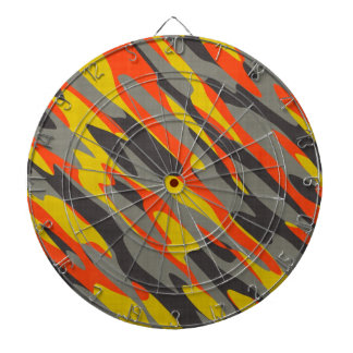 Colorful Camouflage Texture Dart Boards