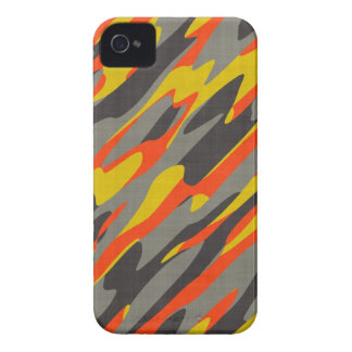 Colorful Camouflage Texture iPhone 4 Cover