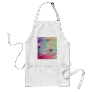 colorful camuflage pattern girly hipster trendy adult apron