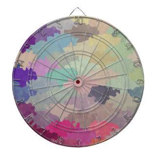 colorful camuflage pattern girly hipster trendy dartboards