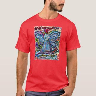 Colorful Cancer Angel - Custom Team Walk Shirt