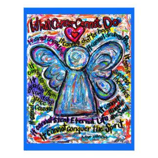 Colorful Cancer Angel Flyer