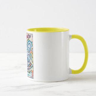 Colorful Cancer Angel Painting Mug