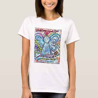 Colorful Cancer Angel T-shirt