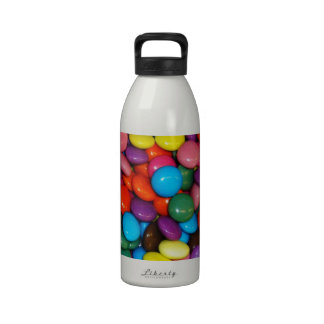 Colorful candies drinking bottles
