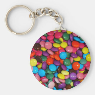 Colorful candies key chains