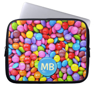 Colorful Candies Laptop Sleeve