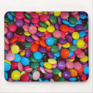 Colorful candies mouse pad