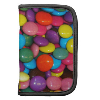 Colorful candies organizers