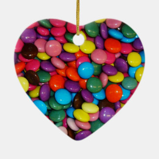 Colorful candies ornaments
