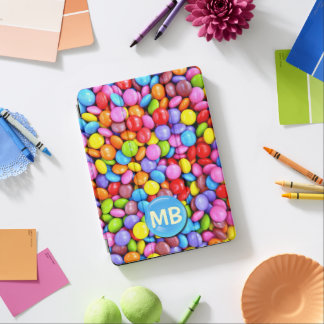 Colorful Candies Personalize Photo iPad Pro Cover
