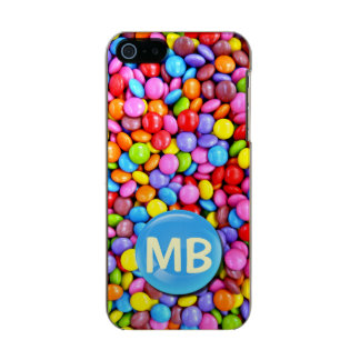 Colorful Candies Personalize Photo Metallic iPhone SE/5/5s Case