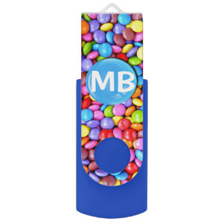 Colorful Candies Personalize Photo USB Flash Drive