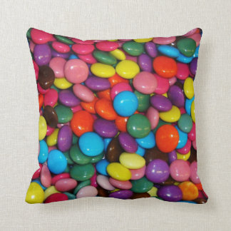 Colorful candies pillows