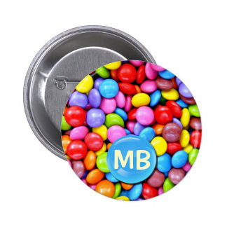 Colorful Candies Pinback Button