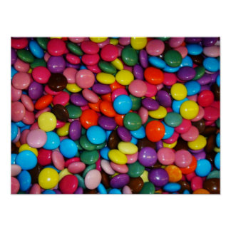 Colorful candies posters