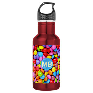 Colorful Candies Stainless Steel Water Bottle