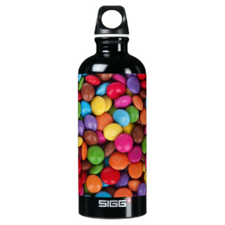 Colorful Candies Water Bottle