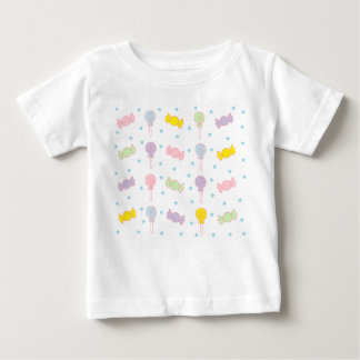 Colorful Candy and Stars Baby T-Shirt