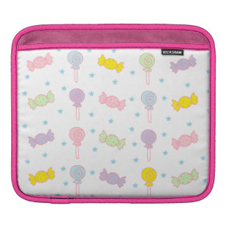 Colorful Candy and Stars iPad Sleeve