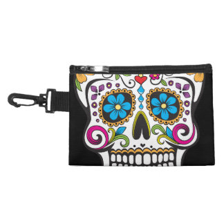 Colorful Candy and Sugar Skull Accessories Bags