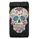 Colorful Candy and Sugar Skull Droid RAZR Cover