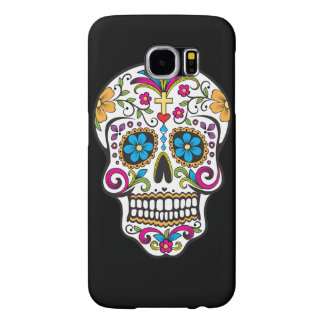 Colorful Candy and Sugar Skull Samsung Galaxy S6 Case