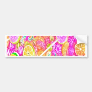 Colorful Candy Bumper Sticker