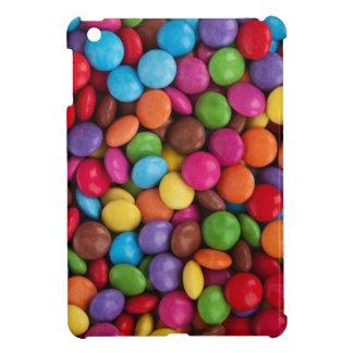 Colorful Candy Coated Chocolates Yum! iPad Mini Cover