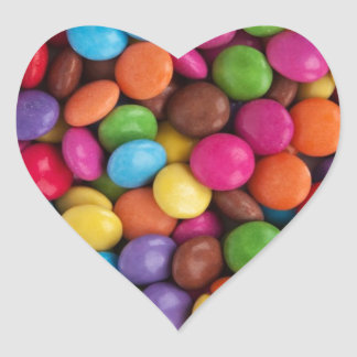Colorful Candy Coated Chocolates Yum! Sticker