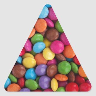 Colorful Candy Coated Chocolates Yum Sticker