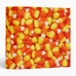 "Colorful Candy Corn 1.5"" Photo Album Binders"