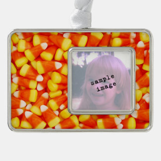 Colorful Candy Corn Christmas Ornament