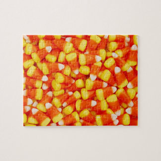 Colorful Candy Corn Jigsaw Puzzle