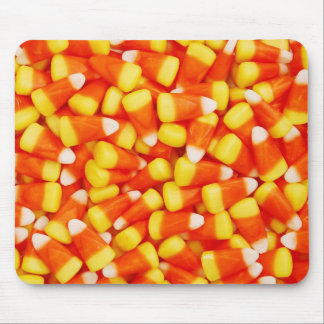 Colorful Candy Corn Mouse Pad