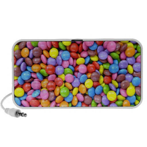 Colorful Candy Laptop Speaker