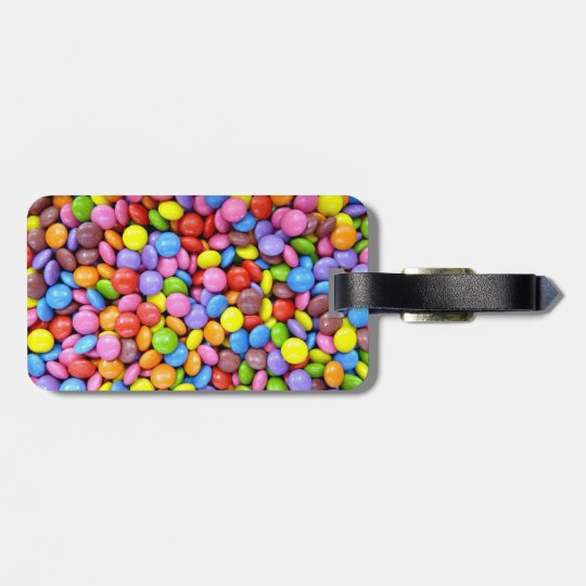 Colorful Candy Luggage Tag