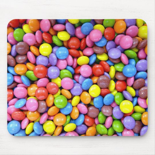 Colorful Candy Mouse Pad