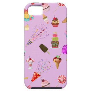 Colorful Candy Party Pattern iPhone 5 Cases