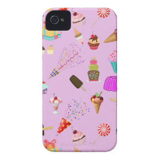 Colorful Candy Party Pattern iPhone 4 Cases