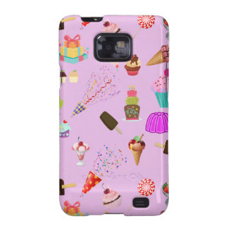 Colorful Candy Party Pattern Samsung Galaxy SII Cases
