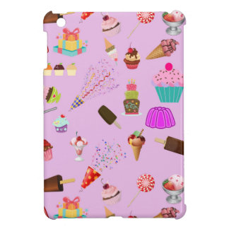 Colorful Candy Party Pattern iPad Mini Cover