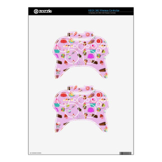 Colorful Candy Party Pattern Xbox 360 Controller Skin
