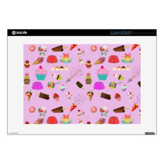 Colorful Candy Party Pattern Laptop Skin