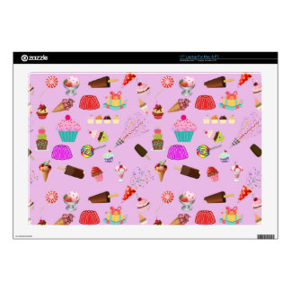 Colorful Candy Party Pattern Laptop Decal