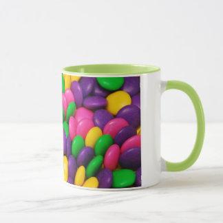 Colorful candy pattern coffee mug