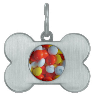 Colorful Candy Pet ID Tag
