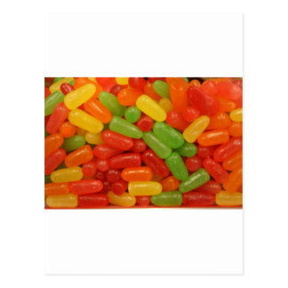 Colorful Candy Pills Post Card